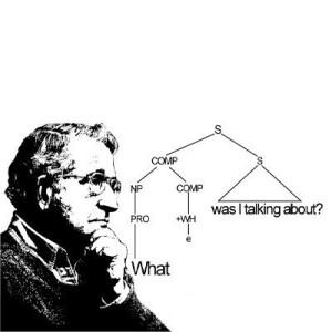 Chomsky generative grammar