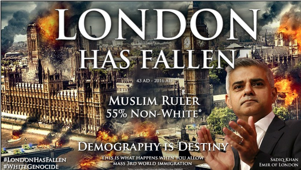 Capture London has fallen